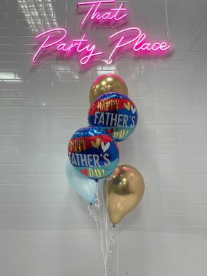 Classic Father's Day 5 Balloon Bouquet